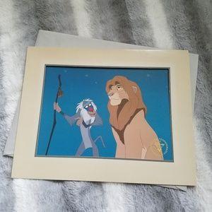 Lion King Lithograph